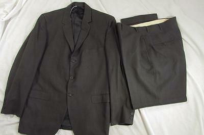Vtg 50s 2 Pc Penney's Townclad Wool Suit Hollyood Jacket & Pants VLV Nice!