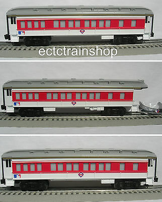 Lionel 7-12004 Philadelphia Phillies 3 Car Passenger Set Train O Gauge Baseball