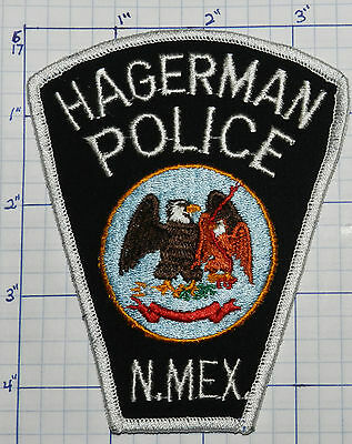 New Mexico, Hagerman Police Dept Patch
