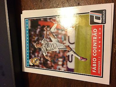 100 Card Lot of 2015 Donruss Base Card #06 Fabio Coentrao Real Madrid