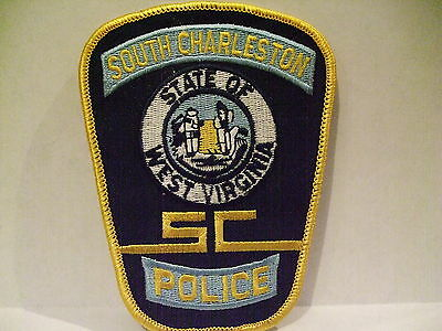 police patch  SOUTH CHARLESTON POLICE WEST VIRGINIA
