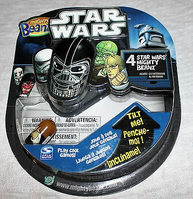 4 Star Wars Mighty Beanz Mystery Surprise Pack Spin Master  NIP