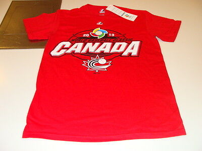 2013 World Baseball Classic Team Canada Clean Up Hitter T Shirt Size Small WBC