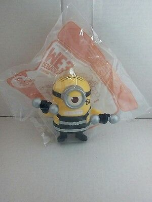 mcdonalds happy meal toy despicable me 3 pumping iron minion