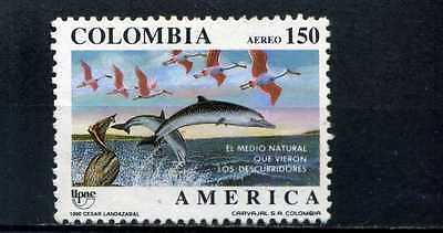 America,- Dolphins Marine Birds    Colombia.    1990