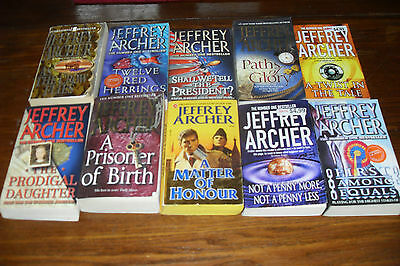 Nice Bundle of Mystery Thrillers by JEFFREY ARCHER    free s/h CAN