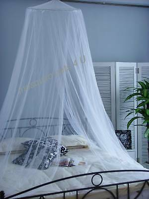 Mosquito Net for SINGLE BED Lightweight WHITE Canopy
