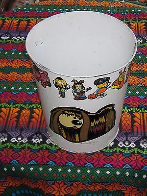 Magic Roundabout Waste Paper Bin . DANOT 1971