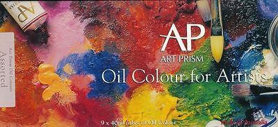 ART SPECTRUM Art Prism for Artists 9 X 40ml tubes Oil Colours