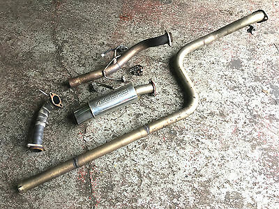 Mitsubishi Colt Ralliart Czt - Cobra Stainless Full System Exhaust & Decats
