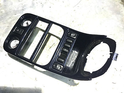 Mg Tf Mgf 1.6 1.8 - Genuine Mgf Trophy Dark Blue Painted Center Console Kit Rare