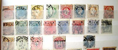 Nice Unsorted Selection Of Early Austria Stamps