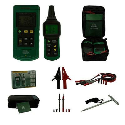 MASTECH MS6818 Underground Metal Pipe Locator Wire Cable Tracker Detector Tester