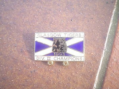 Glasgow Div 2 Champions  1993   Speedway Badge   Mint  Con In Gold