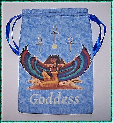 Isis Tarot Card Bag ideal for most fairy, angel & Wicca tarot cards