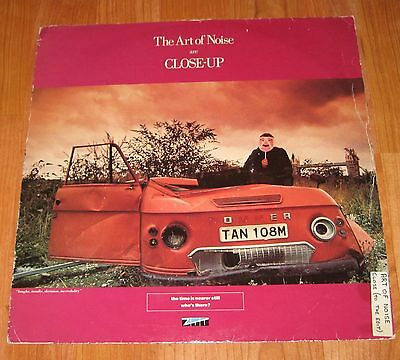 "The Art Of Noise - Close - Up 12"" Vinyl Single 3Rd Version"