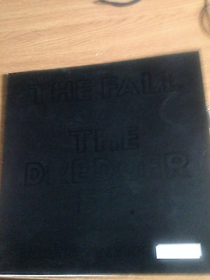 The fall the dredger ep numbered 12 vinyl includes poster