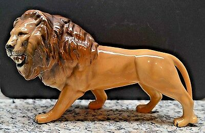 Beswick LION Facing Left #2089 Golden Brown Color Glossy Finish