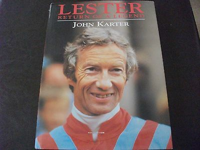 Lester - Return Of A Legend - Hardback By John Karter