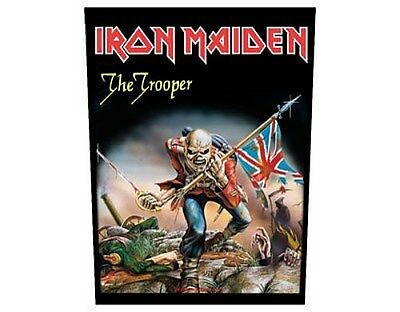 IRON MAIDEN the trooper GIANT BACK PATCH - 36 x 29 cm