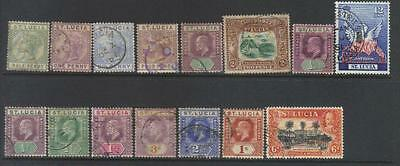 St Lucia Small Early Used Selection