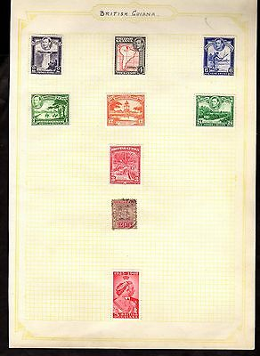 Stamps ~ BRITISH GUIANA ~ Early