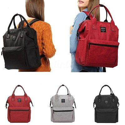 UK Baby Diaper Nappy Backpack Multifunctional Mommy Bag Changing Mummy Backpack