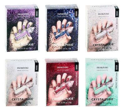 Genuine SWAROVSKI® Create Your Style Crystalpixie Edge for Nail Art * New Colors