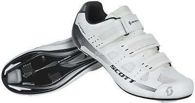 Scott Comp Road Cycling Shoes - White
