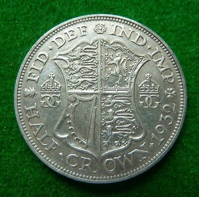 1932 George V  Halfcrown - Aef