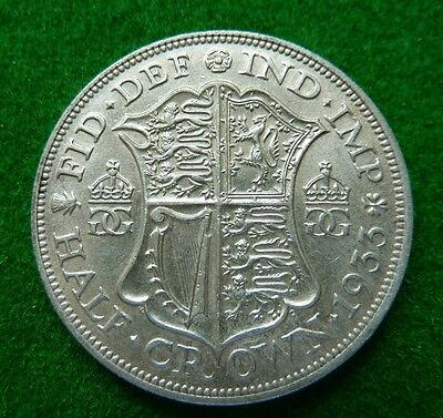 1933 George V  Halfcrown - Aef