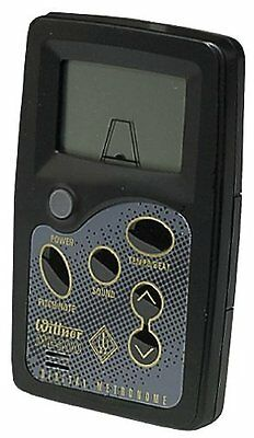 Wittner MT-400 Metronome Pitch Shift A435-445 10 Beat Settings Silver RRP 49.99