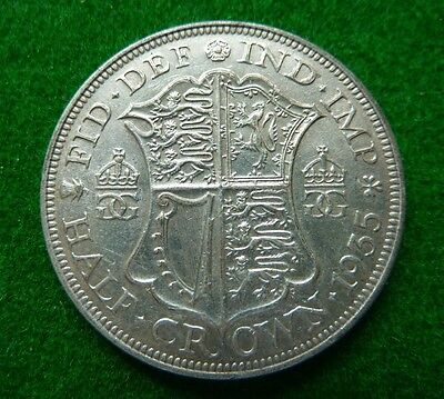 1935 George V  Halfcrown - Vf+