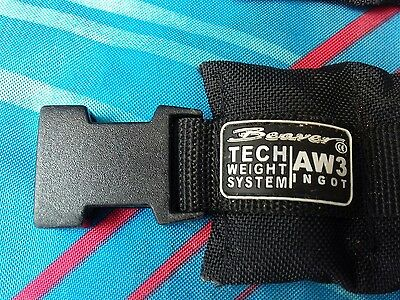 Beaver Tech Ankle Weights 1.3 kg SCUBA DIVING  ballast Drysuit