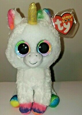 "Ty Beanie Boos ~ PIXY the 6"" Unicorn ~ Stuffed Toy ~2017 NEW (IN HAND Next Week)"