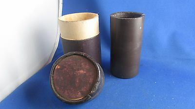 ancien disque cire cylindre tube gramophone phonographe