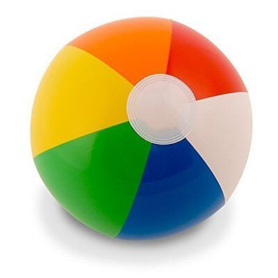 NEW Beach Balls - 12   Rainbow - 12 pack