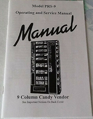 New Antares - Edina Snack & Soda Vending Machine - Prs-9 Manual -9 Column Vendor