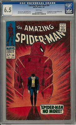 Amazing Spider-Man #50 CGC 6.5 (W) 1st appearance of Kingpin