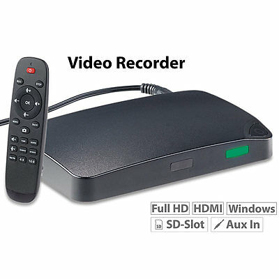 "auvisio HDMI-Video-Rekorder ""Game Capture V3"", Full HD, USB (refurbished)"