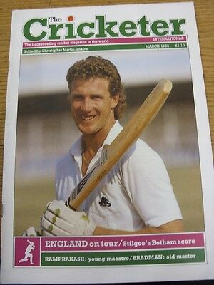 Mar-1988 The Cricketer International Magazine: Vol 069 No 03