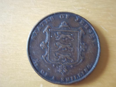 States Of Jersey 1/13 Of A Shilling - 1858 - Victoria Coin