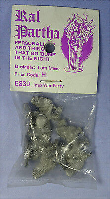 RAL PARTHA - Personalities & Things - ES39 Imp War Party - In Bag - Pre Slotta