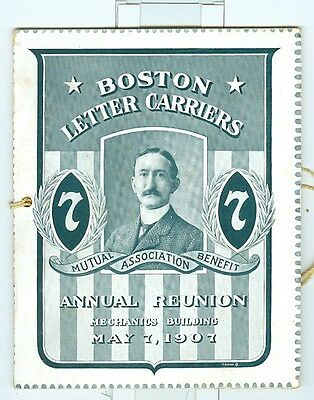 1907 Boston Letter Carriers Reunion