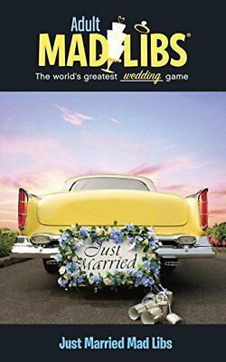 Just Married Mad Libs-Molly Reisner