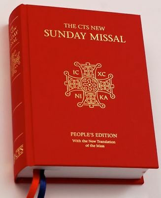 CTS New Sunday Missal: People's Edition with New Translation of the Mass-Catholi