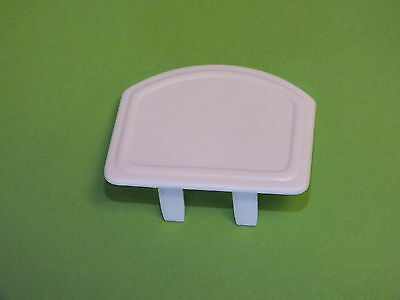 PVC Clip-in End Cap - for Snap Down, Rafter Supported Glazing Bars (10-16mm)