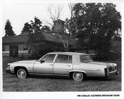 1985 Cadillac Fleetwood Brougham Sedan Factory Photo ae4228