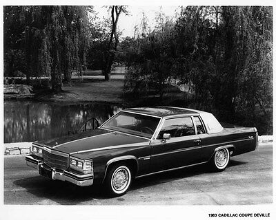 1983 Cadillac Coupe DeVille Factory Photo ae4289