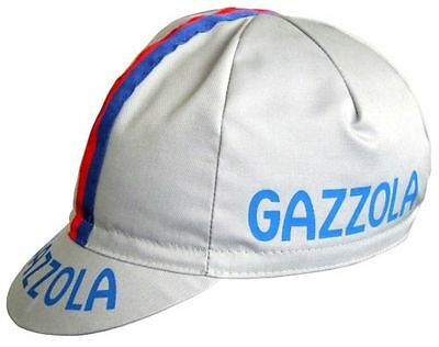 GAZZOLA RETRO CYCLING BIKE CAP - Vintage - Fixed Gear - Made in Italy